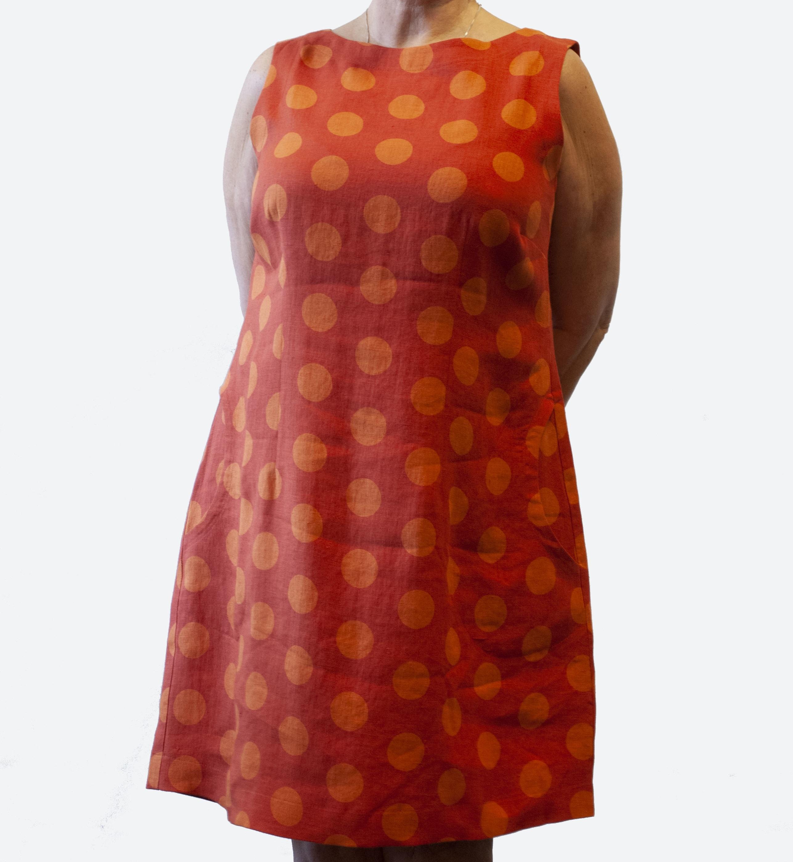 Prick klänning linne 3