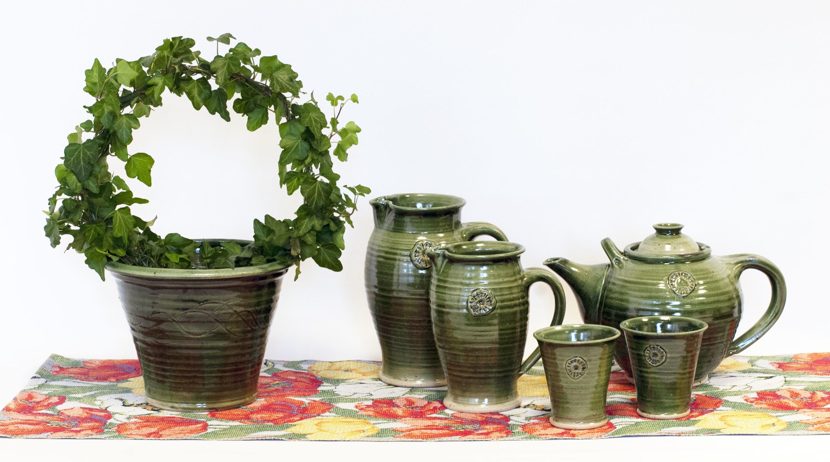 Avtryck keramikserie