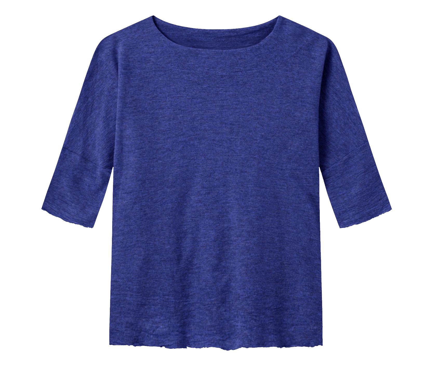 koboltblå tröja