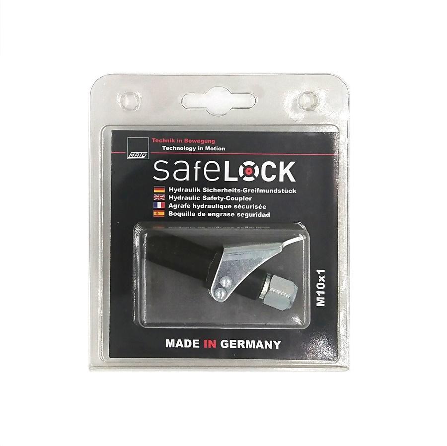 Safelock MATO låsbart smörjmunstycke