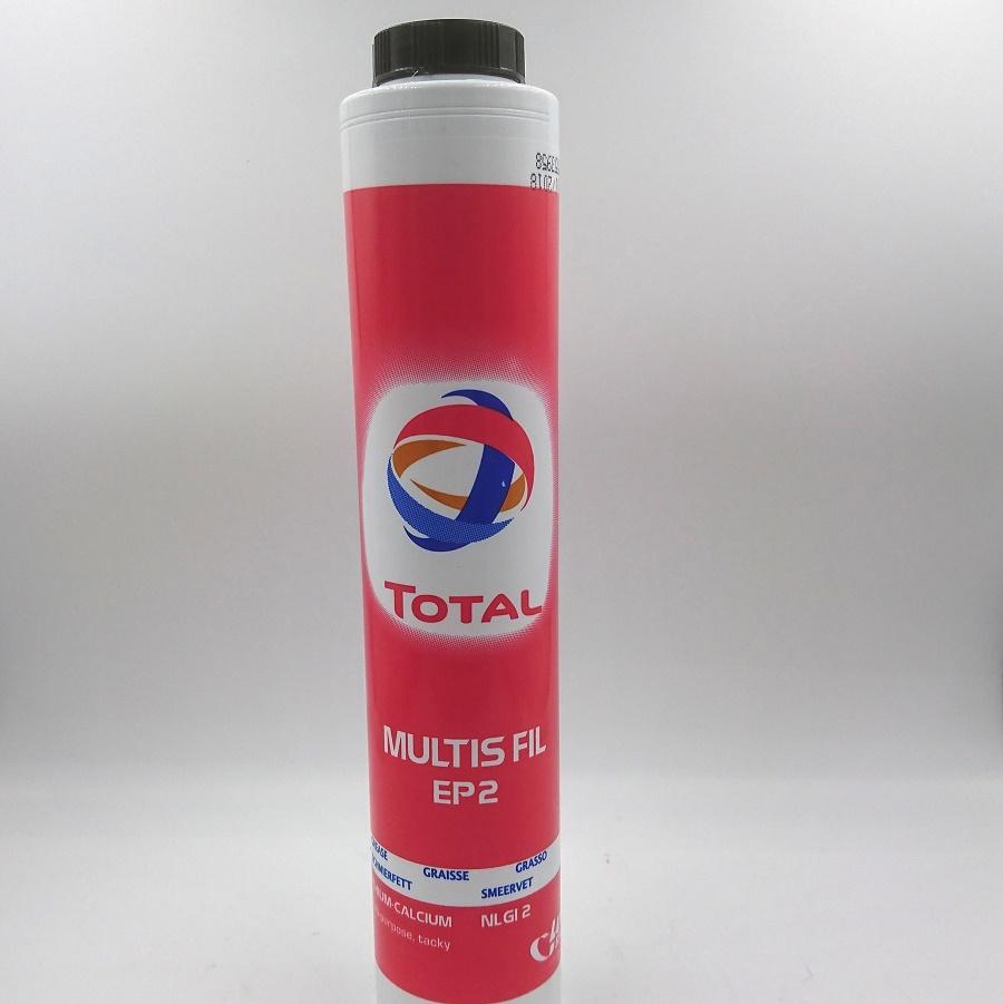 Total Multis FIL EP2 Ls-tub 400 gram Grönt entreprenadfett