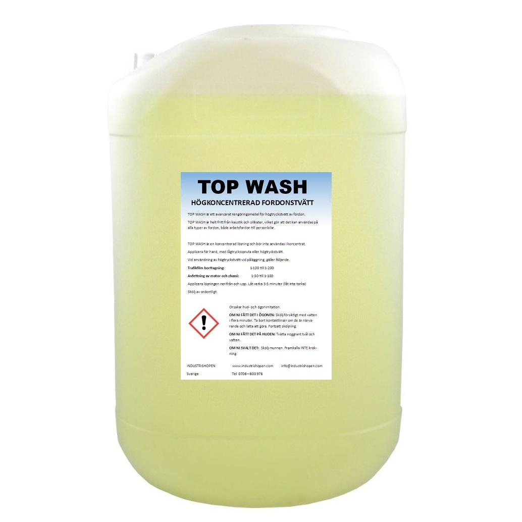 TOP WASH kraftfull fordonstvätt kallades tidigare Power Wash