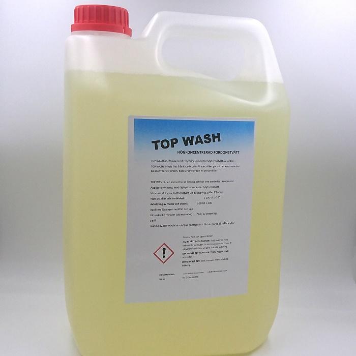 TOP WAH 5L fordonstvätt högkoncentrerad hette tidigare powerwash gulf