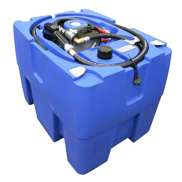 mobil_dieseltank 200 liter med 12 volts pump.