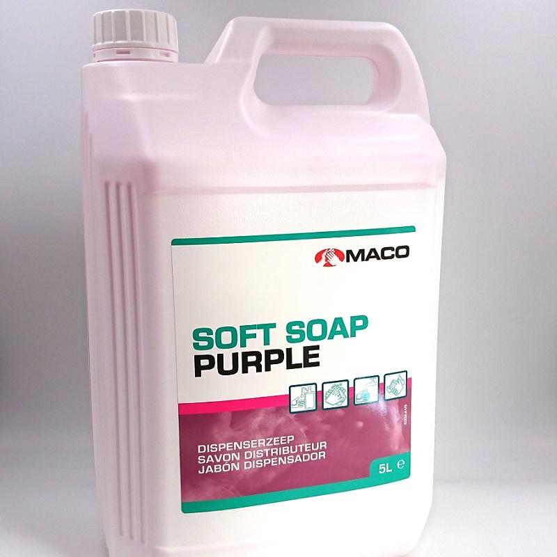SOFT SOAP Purple flytande tvål 5 L