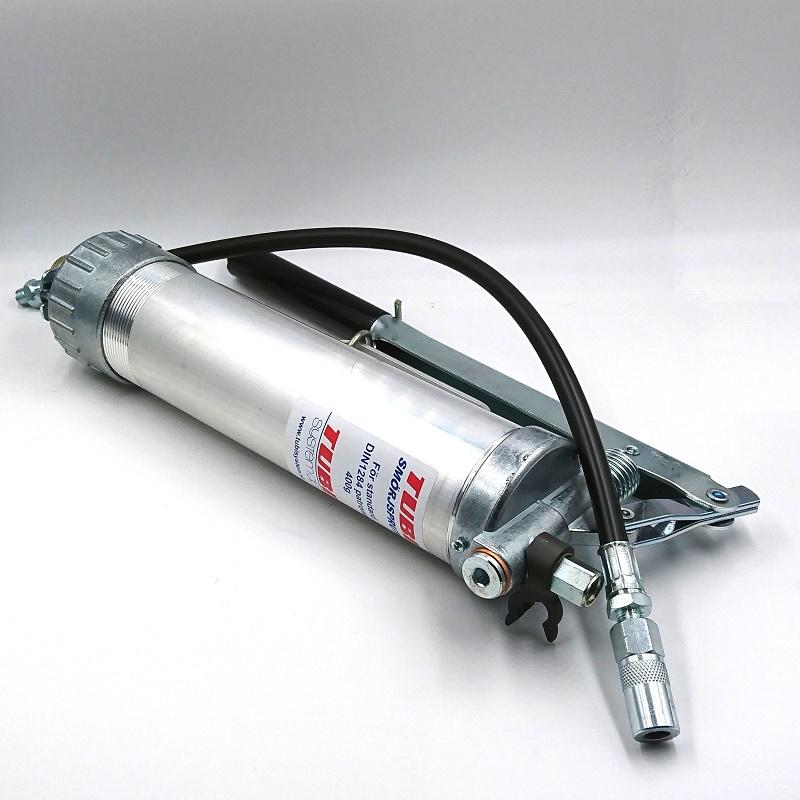 TUBI FETTSPUTA för 400 gram LS-tub inkl slang och munstycke