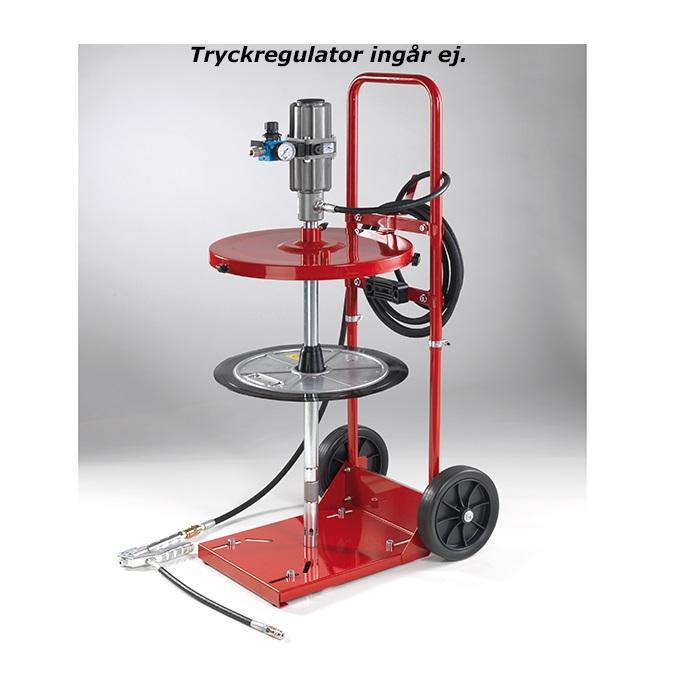 Smörjutrustning för 50 kg fat med vagn KP7273TN