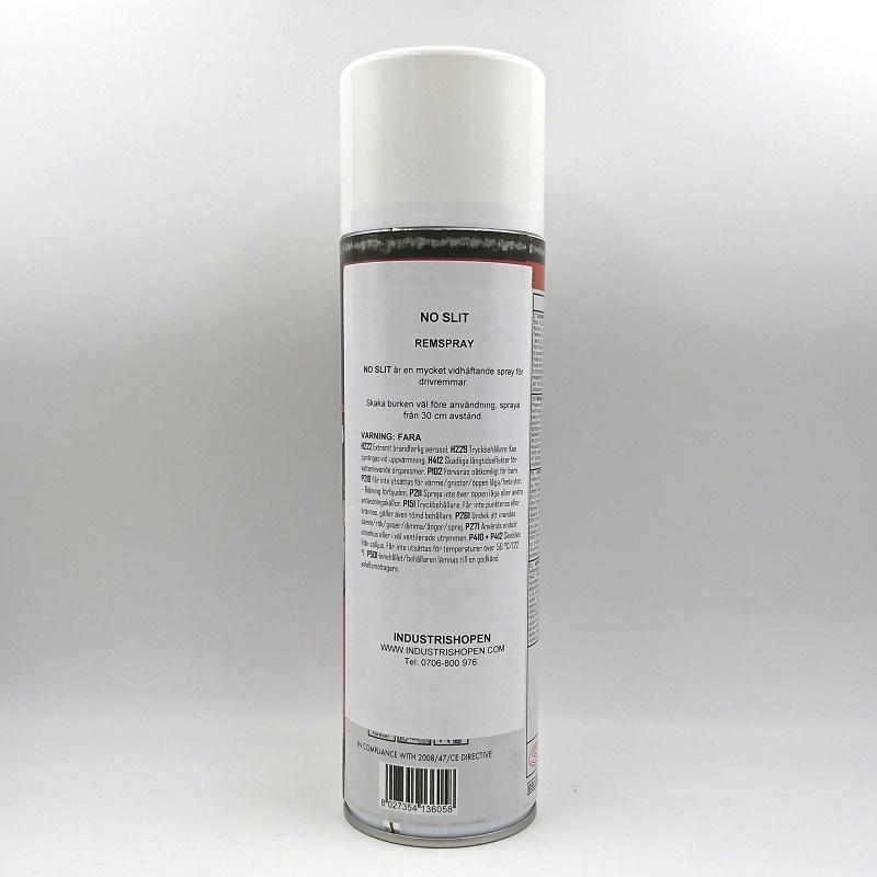 No SLIT remspray etikett