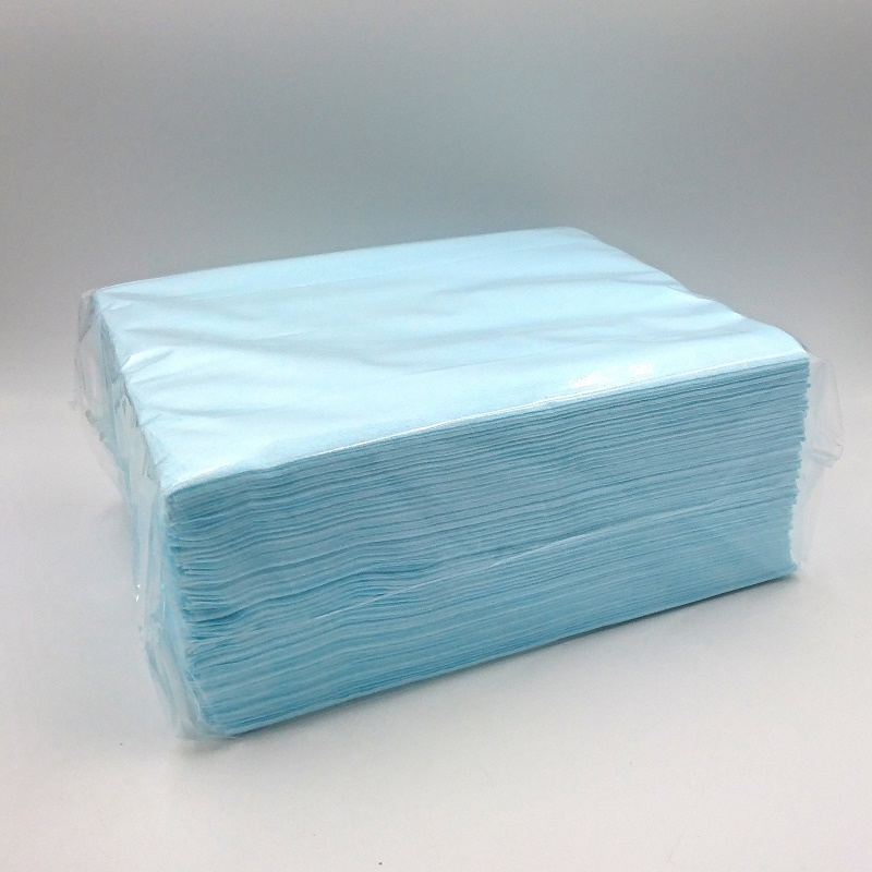 sontara nonvoven blå luddfritt papper
