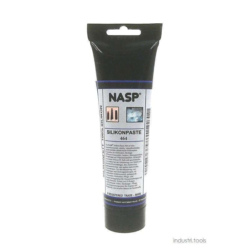 NASP silikonpasta 464 för o-ringar glidmedel livsmedelgodkänd ptfe