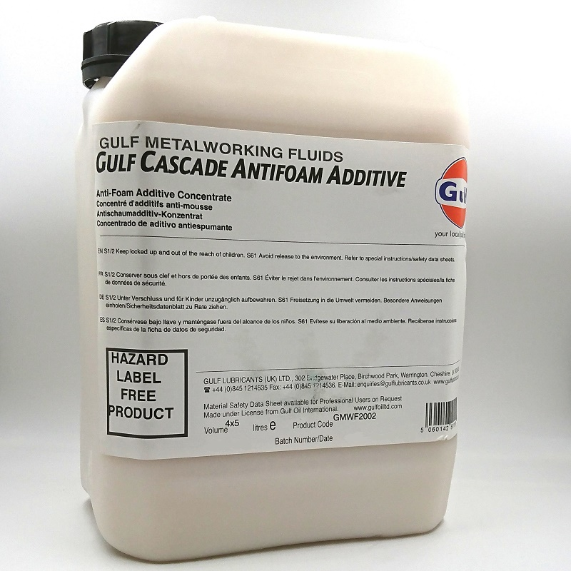 SKUMDÄMPARE antifoam gulf cascade antifoam additive 5L