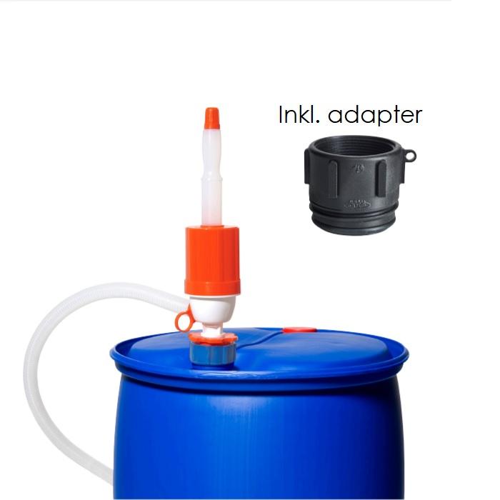 Hävertpump inkl adapter