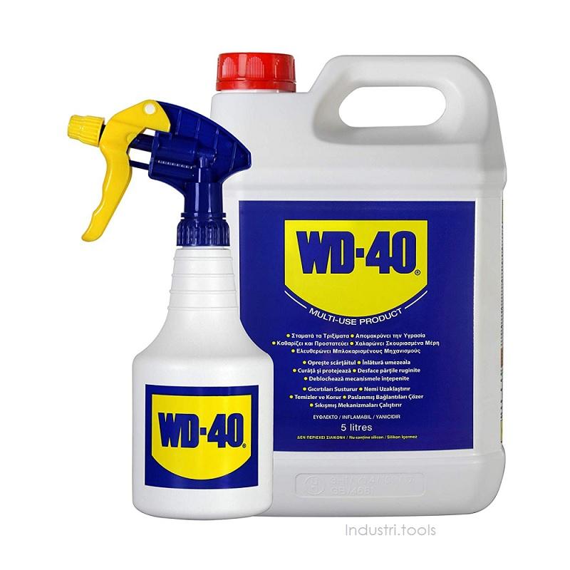 wd40 komplett med sprayflaska 5liter