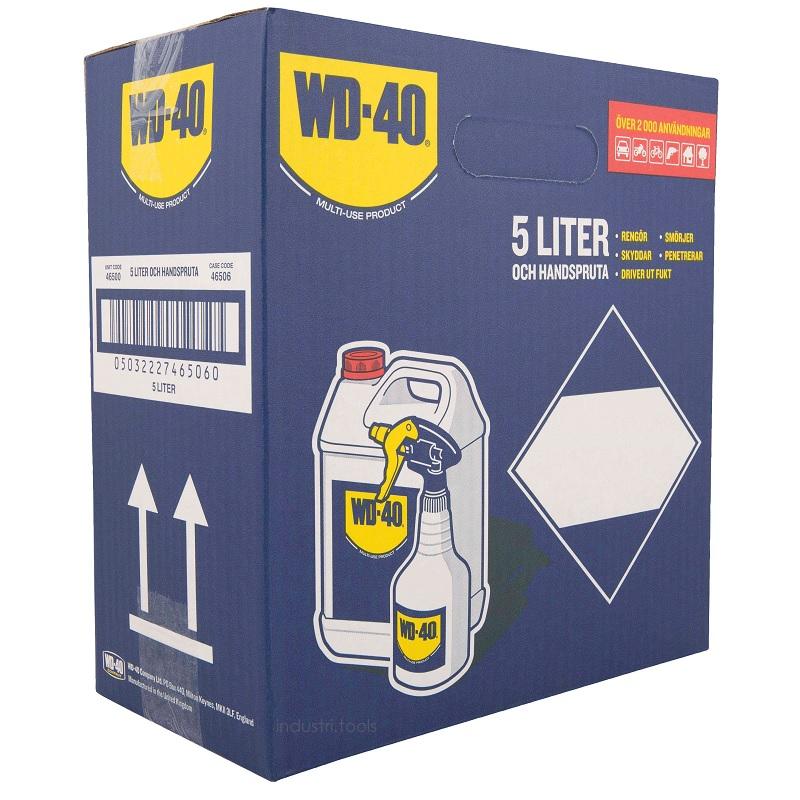 WD40 5 liter och handspruta 05032227465060