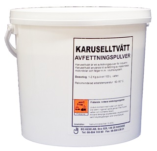 KARUSELLTVÄTT PULVER - 4X5 KARUSELLTVÄTT PULVER