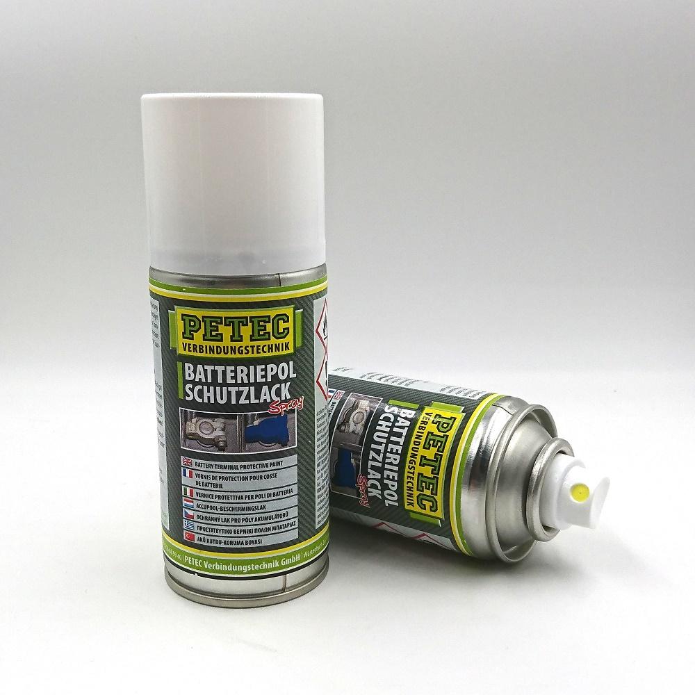 Skyddslack för batteri Blå - reducerar krypströmmar och fukt på bilbatteri