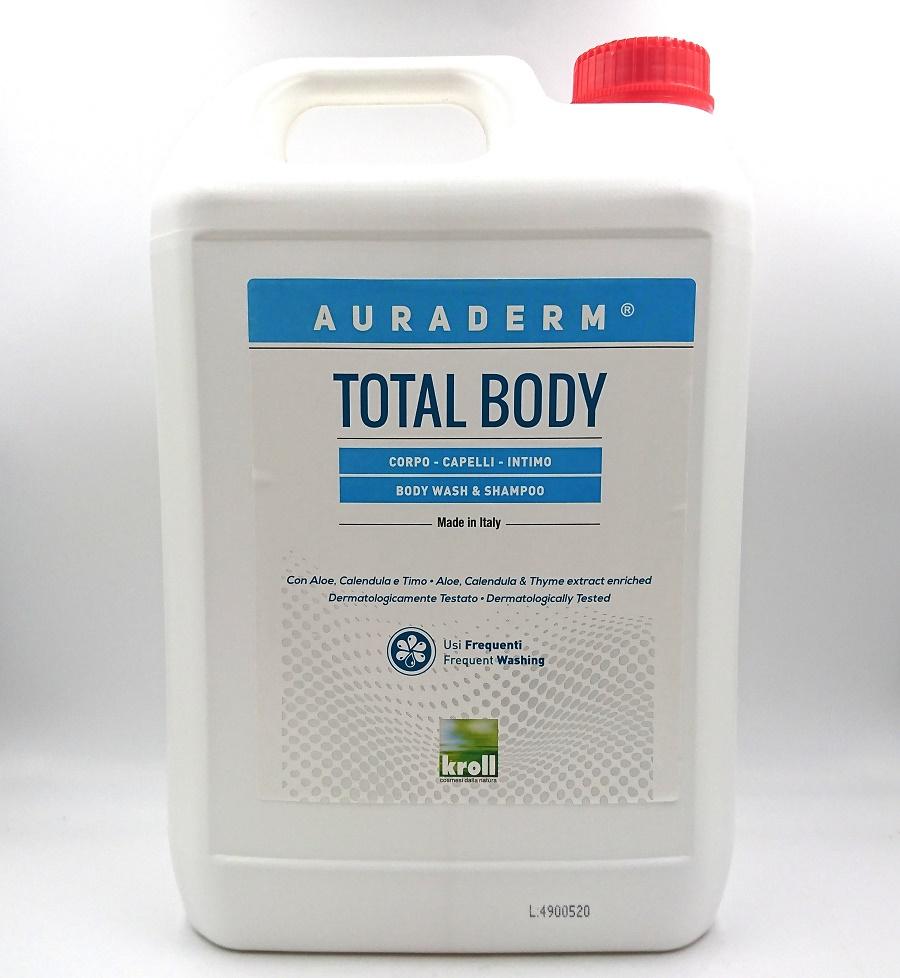TOTAL BODY 5L auraderm body wash & shampo