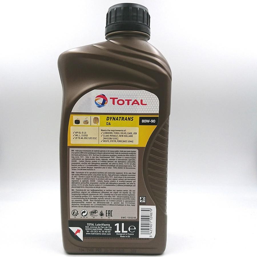 TOTAL DYNATRANS DA 80W-90  GL-5 LS,