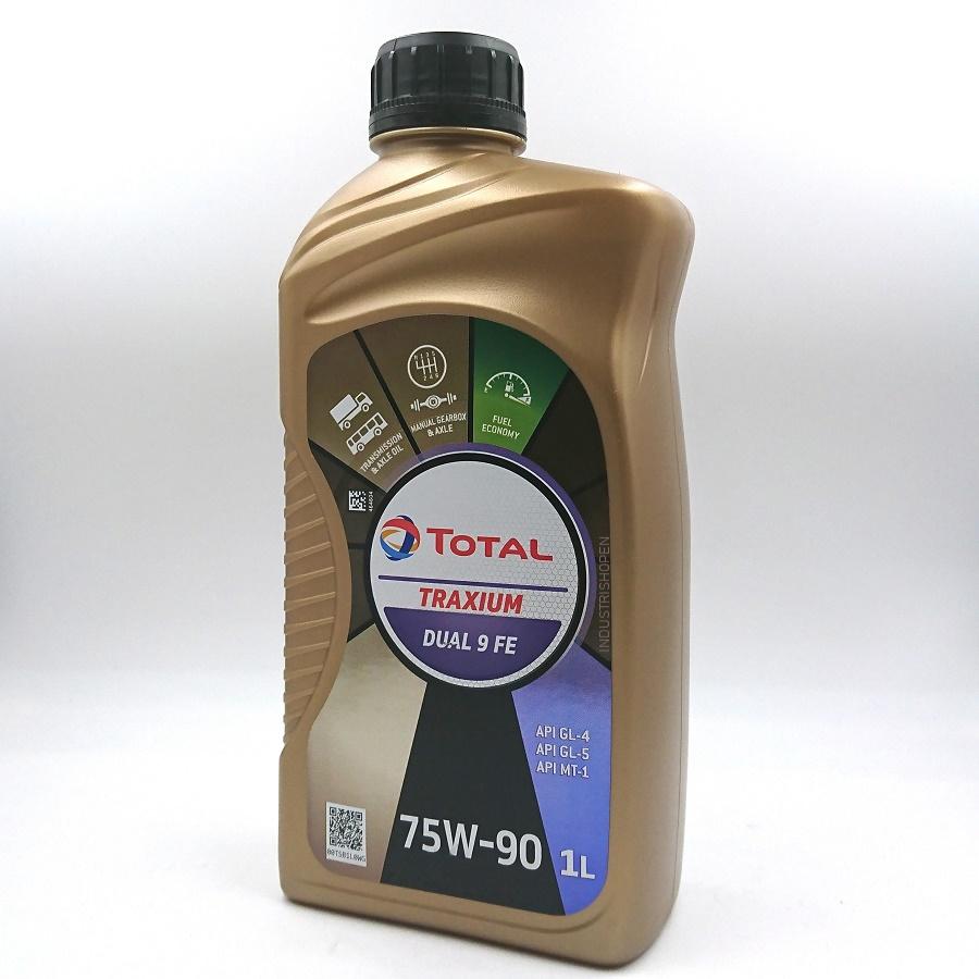 TOTAL TRAXIUM DUAL 9 FE, 75W-90 GL-5  GL-4  MT-1