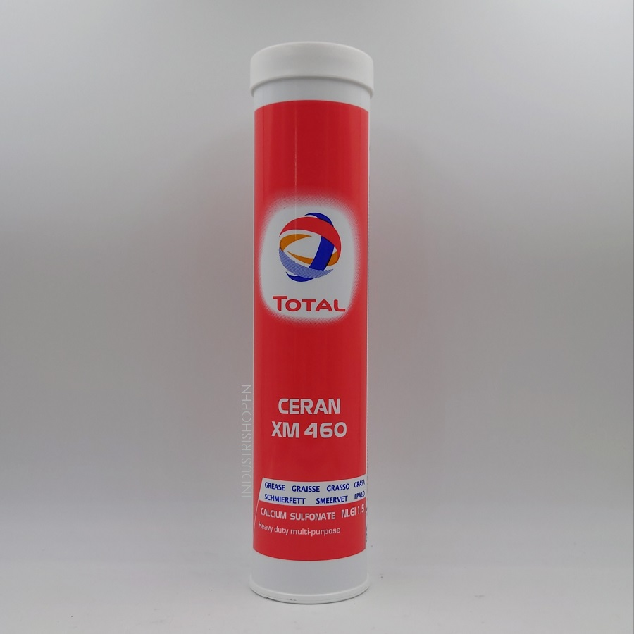 CERAM XM 460, calcium sulfate fett NLGI 1,5 Lämpligt till lager i stålverk och pappersindustrin