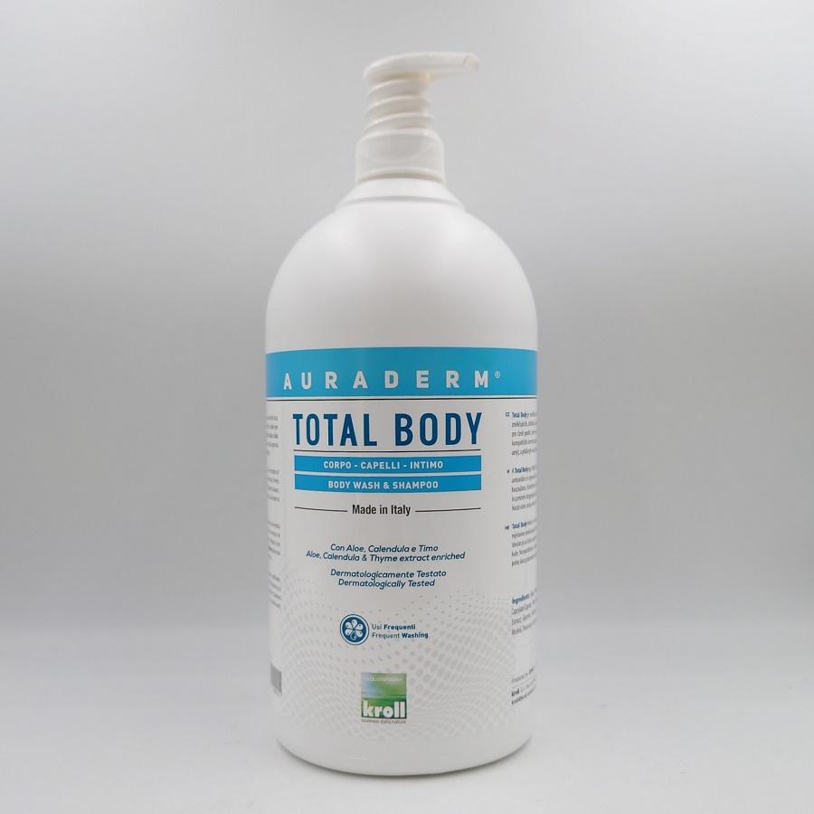 TOTAL BODY WASH & SHAMPOO Mady in Italy med Aloem Ringblomma och timjan extrakt