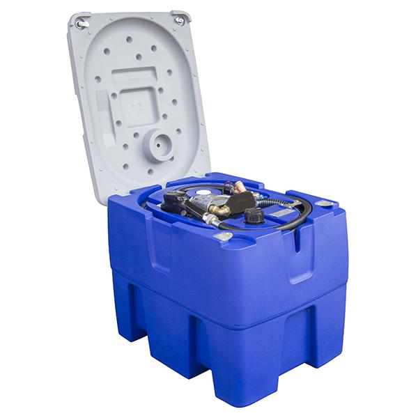 MOBIL TANK 220 L med lock 12Volt art 6502201220