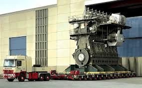 Världens största motor 109 000 hk