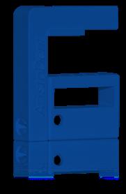 Blå Borrix Mini