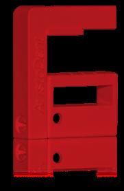 Röd Borrix Mini