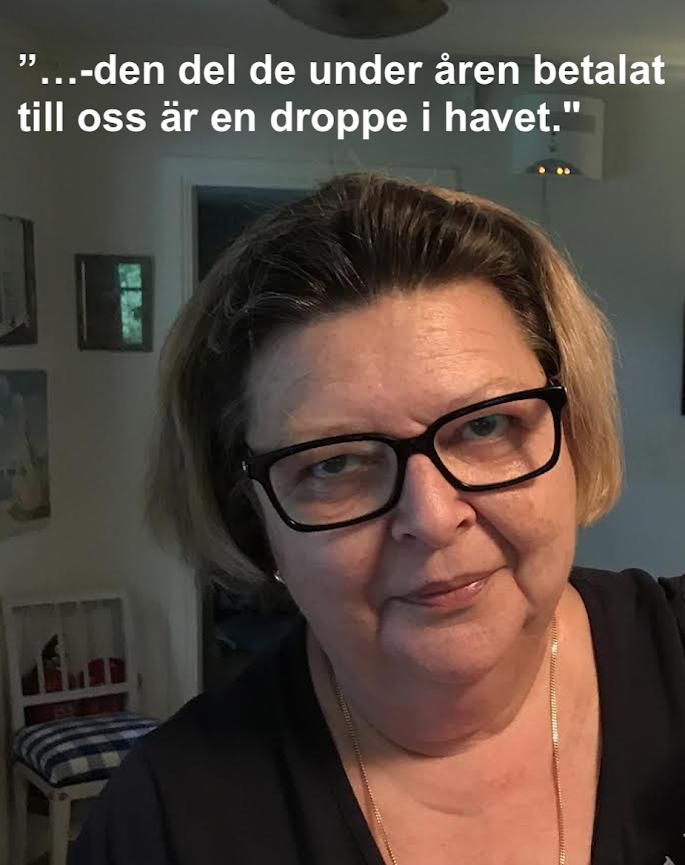Museichefen Lena A Löfström. Foto privat