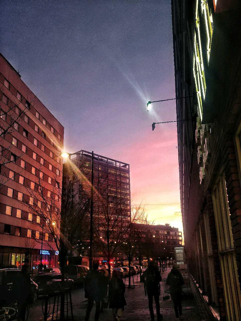 Downtown. Esplanaden; 22 dec -20. Bild ac