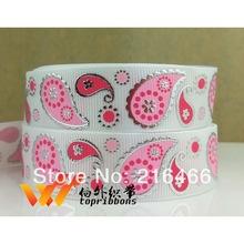 Dekorband vitt och rosa