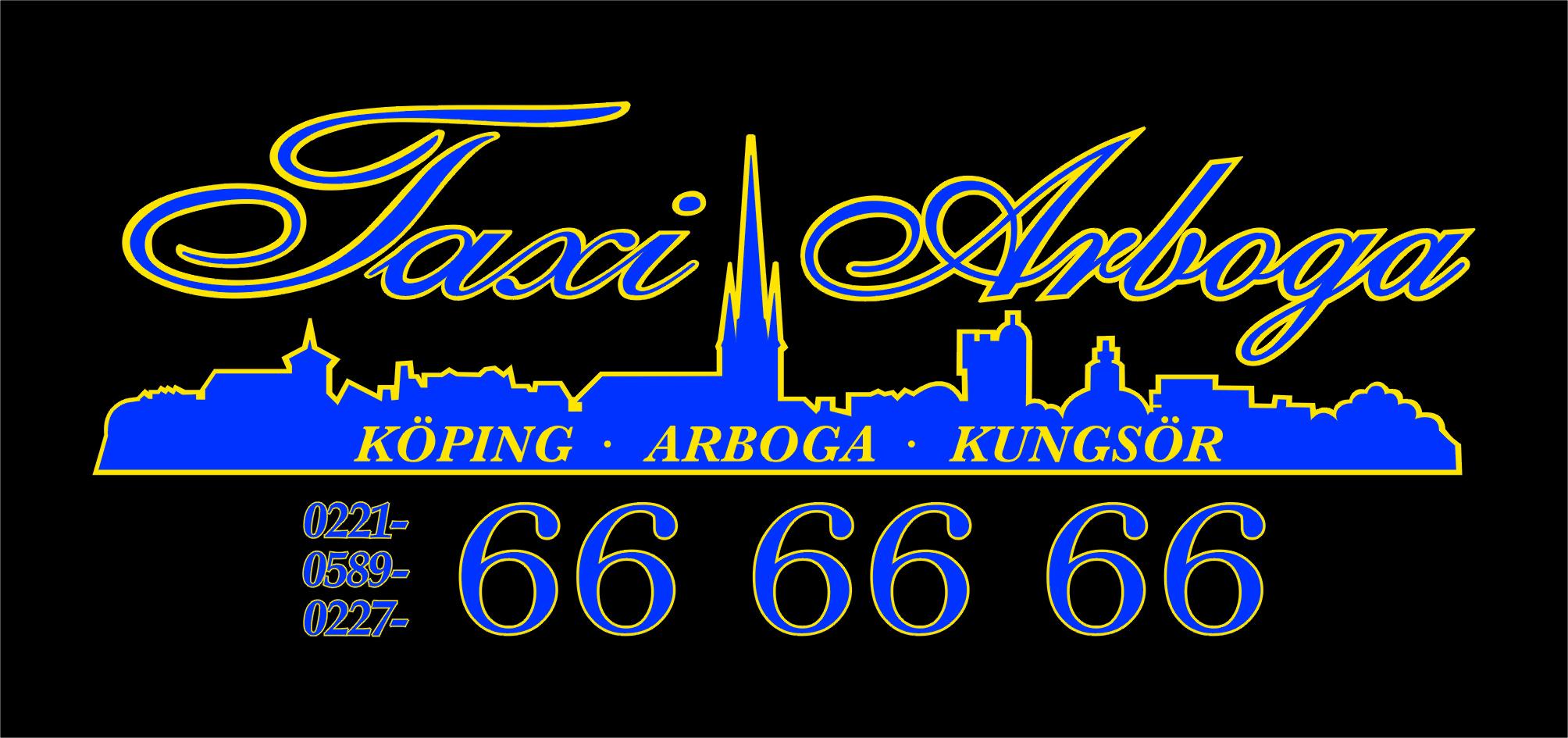 Logotype-Taxi-Arboga-Kungsör-Köping 2016-. Hemsida
