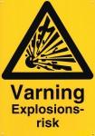 Varningsskylt