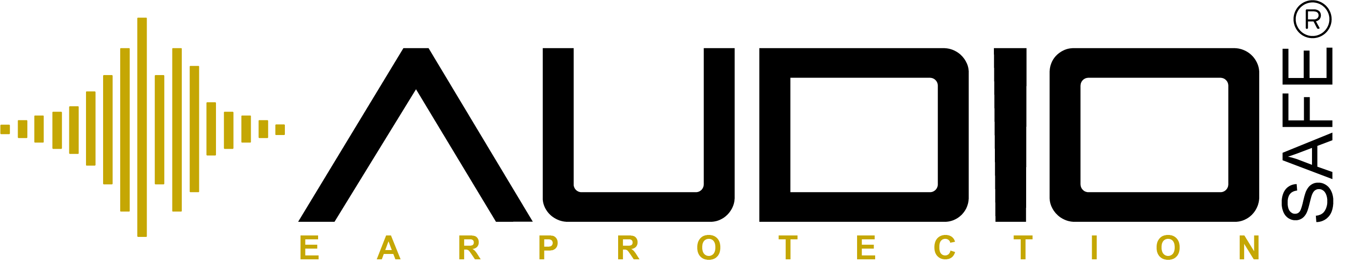 AUDIO SAFE LOGO ORGINAL GOLD