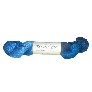 Jaipur Silk Blå 2