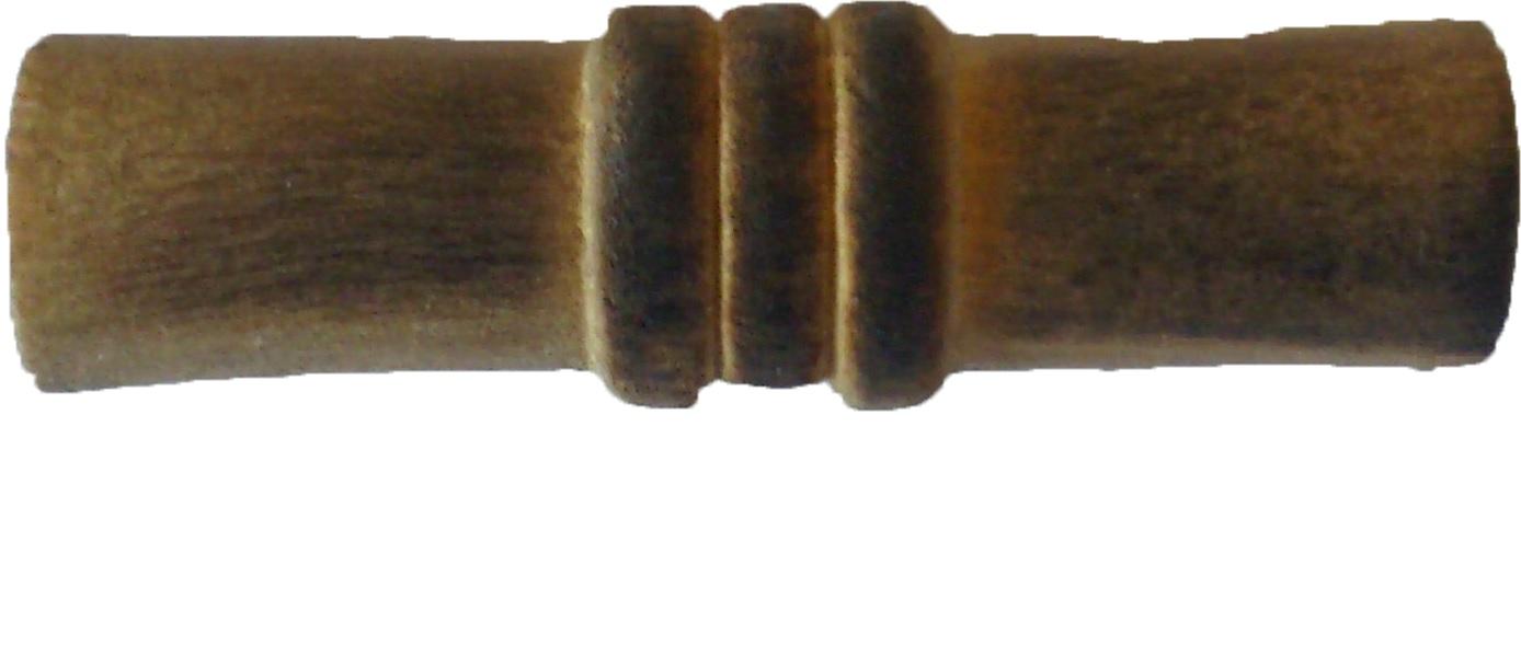 Duffelknapp trä 2