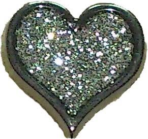 Knapp Hjärta 16 mm - Knapp Hjärta 16 mm