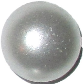 Knappkarta Elegant Pärlemo - Pärlemoknappar Vita 12 mm