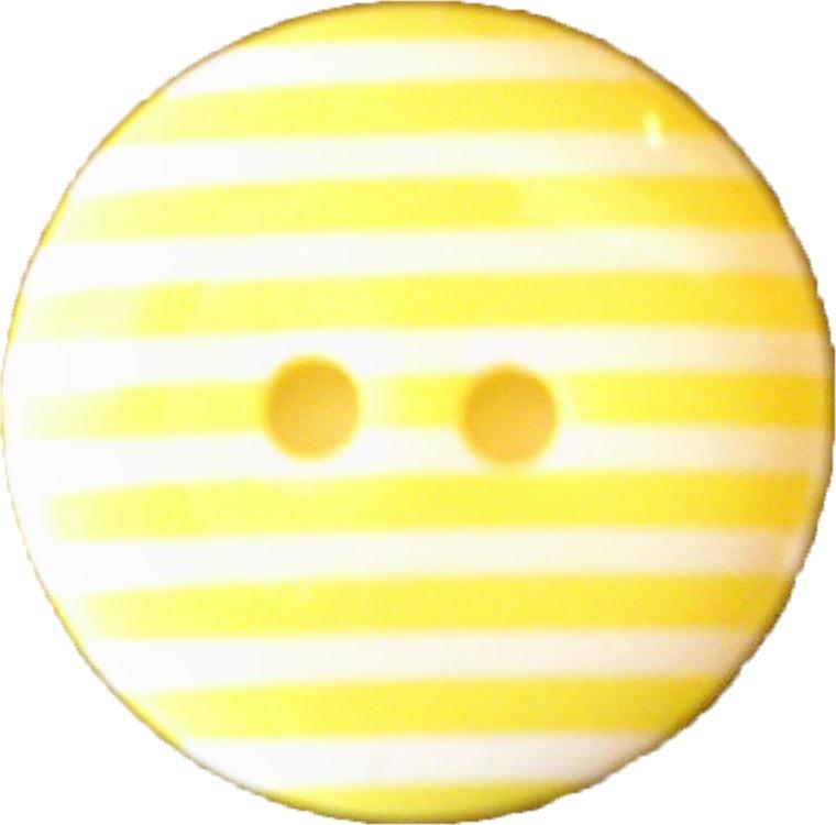 Randig gul knapp 3