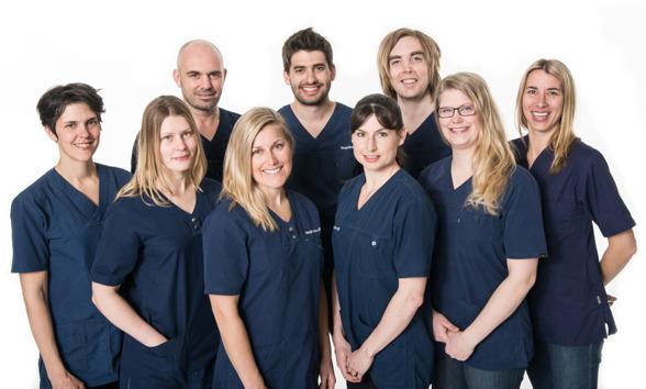 Stegklinikens Ortopedtekniker och behandlare