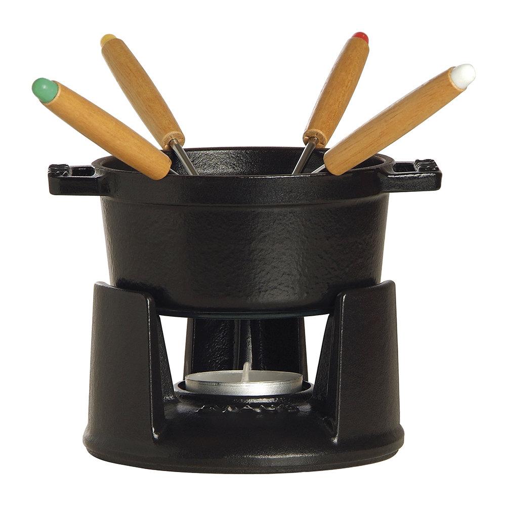mini-fondue-set-with-4-forks-black-836120