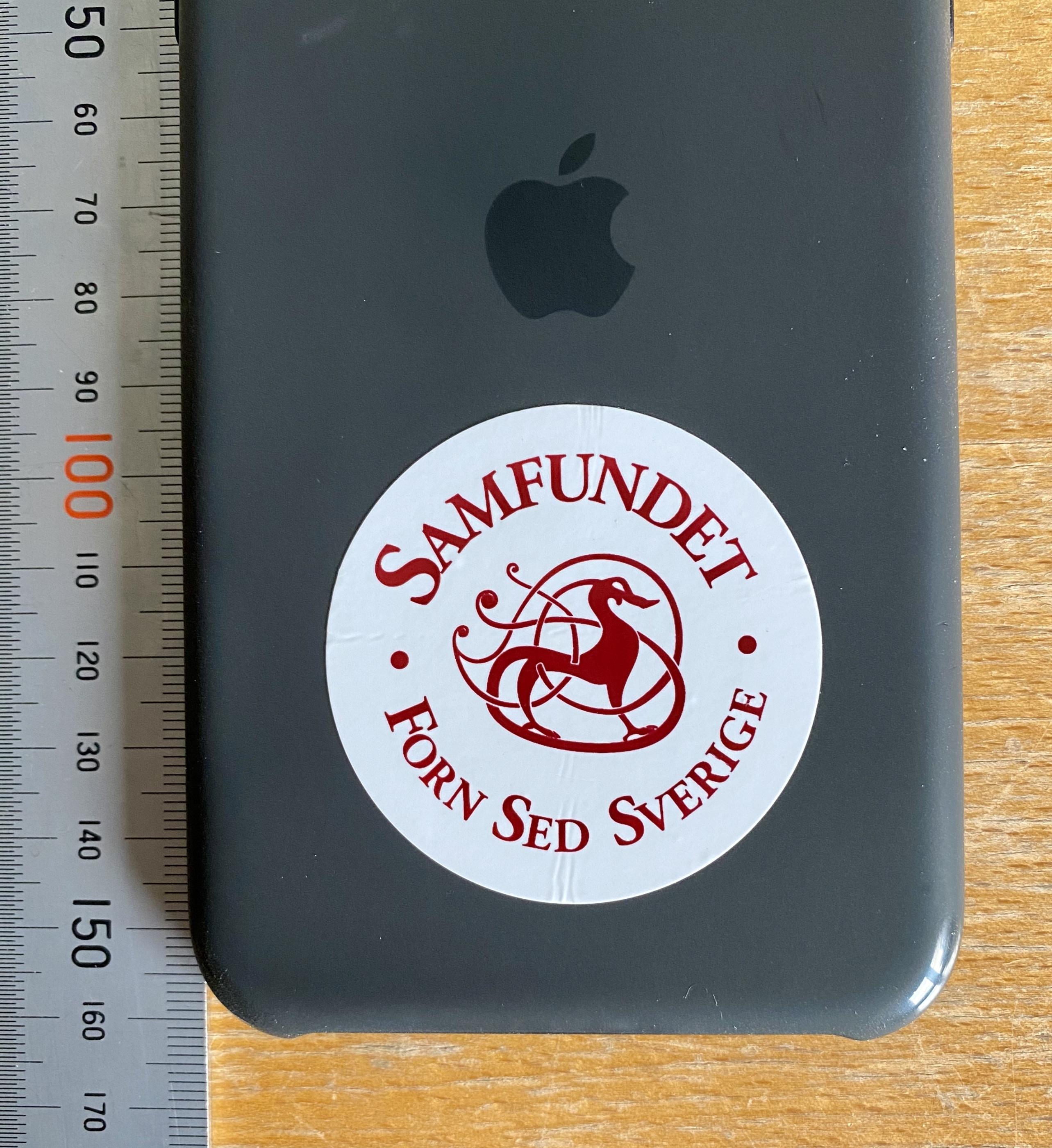 Klistermärken 5x5 cm iPhone