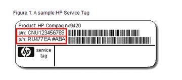 För alla HP datorer måste dessa uppgifter skickas