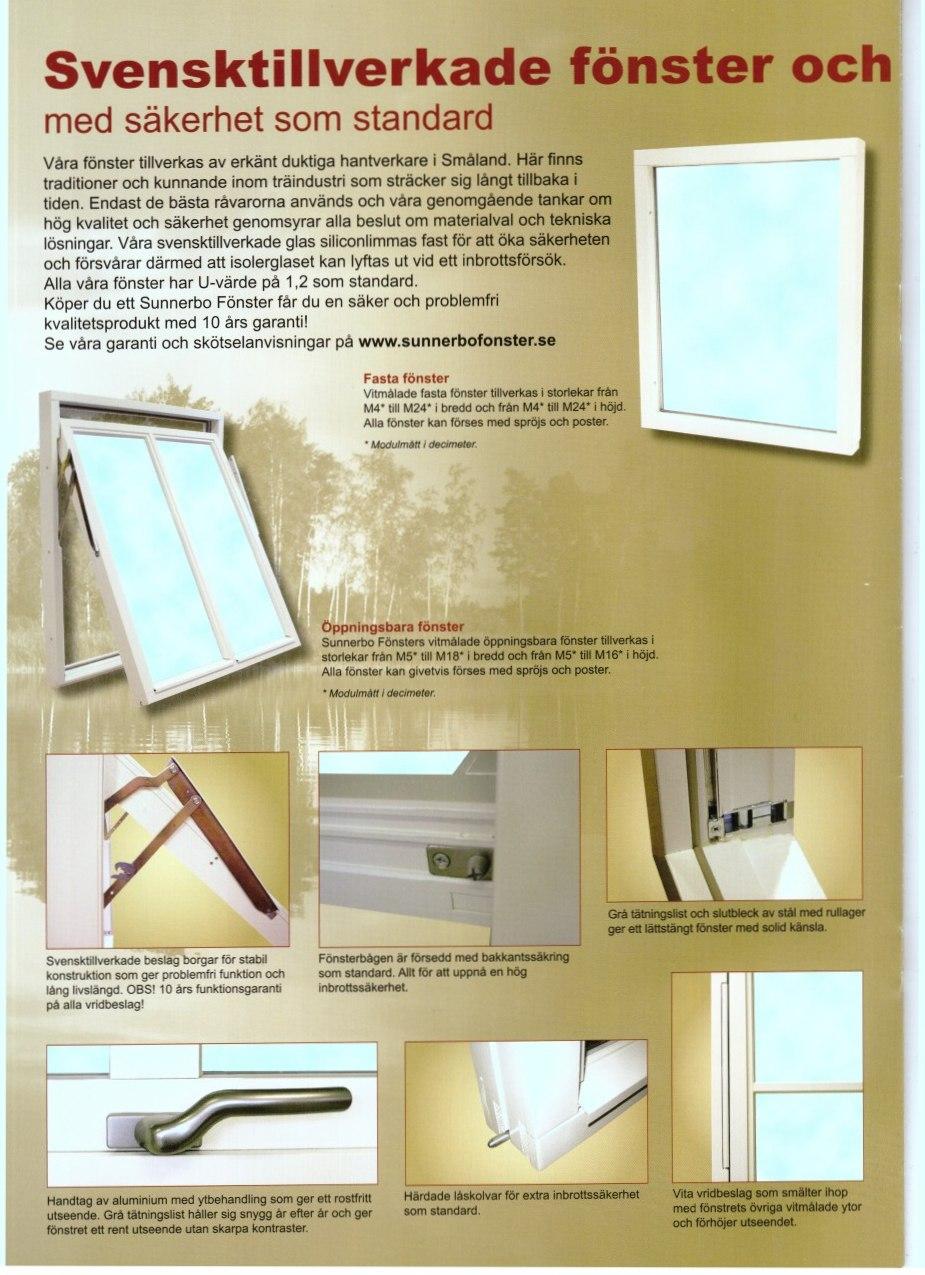 Fönsterbyte i Kalmar län, 33 % rabatt, byta fönster billigt.