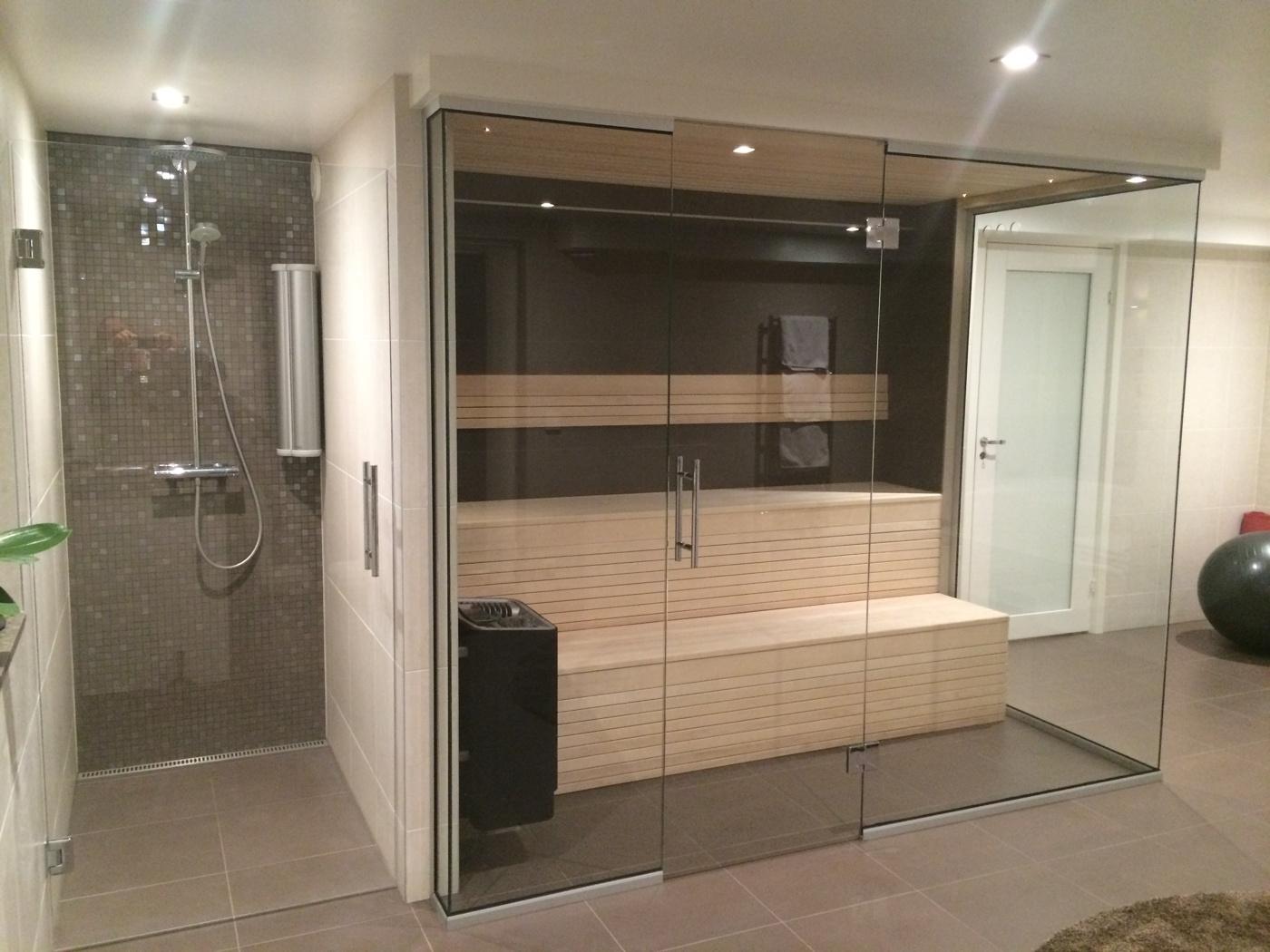 Glasvägg - Pris 590 kr/kvm. Glasvägg till bastu, kontor, dusch. : bygga bastu pris : Inredning