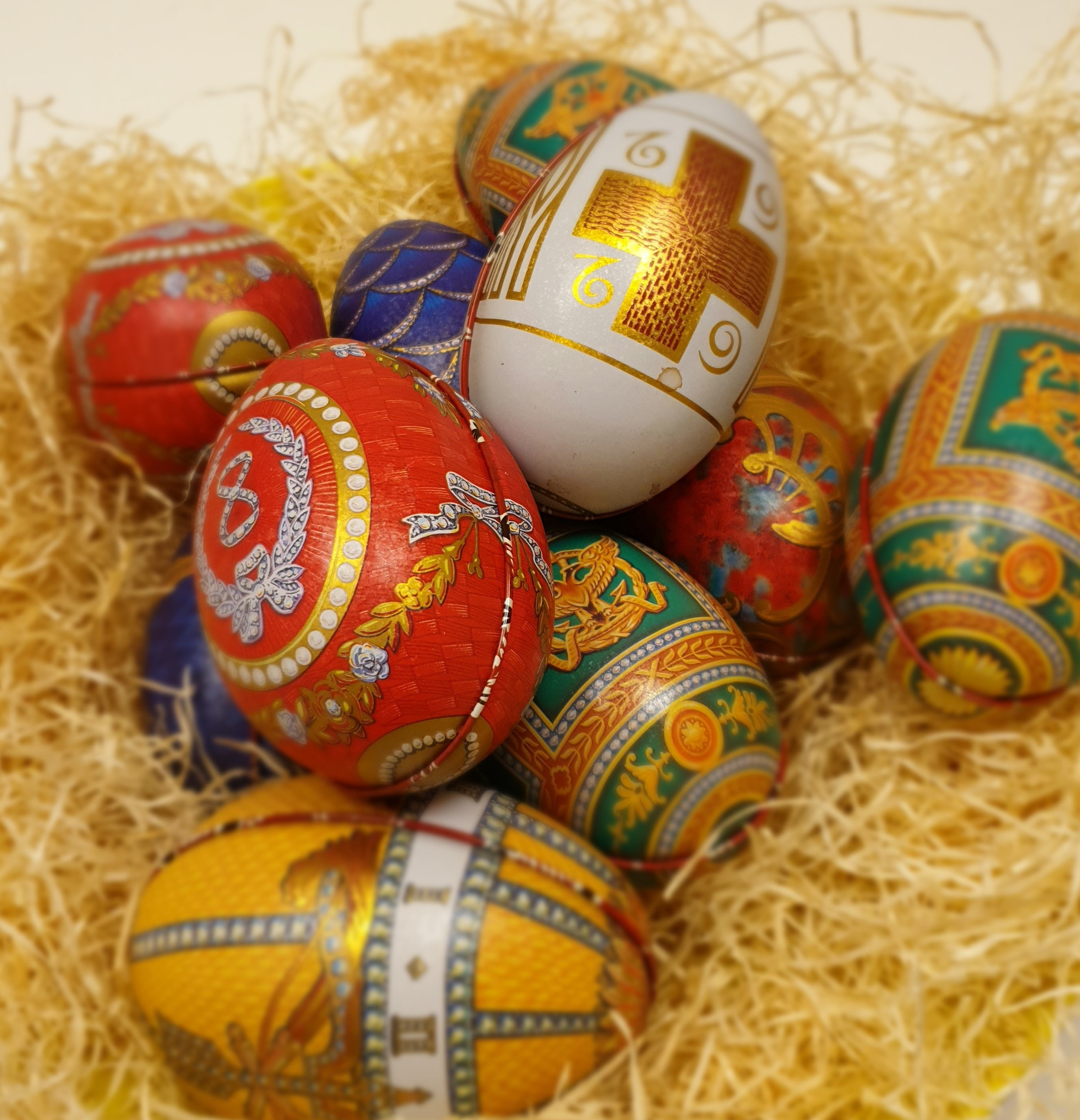 faberge ägg choklad