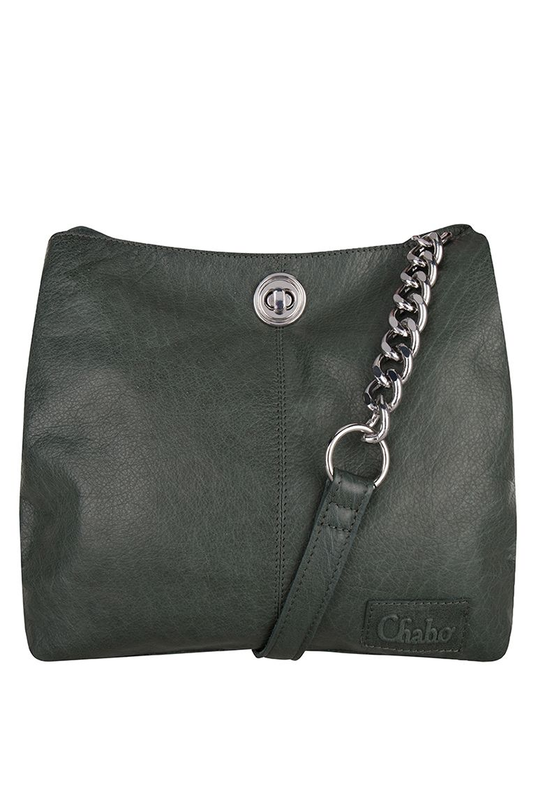 Chabo_Chain-Bag-Small-Green