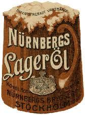 Reklambild från Nurnbergs bryggeri