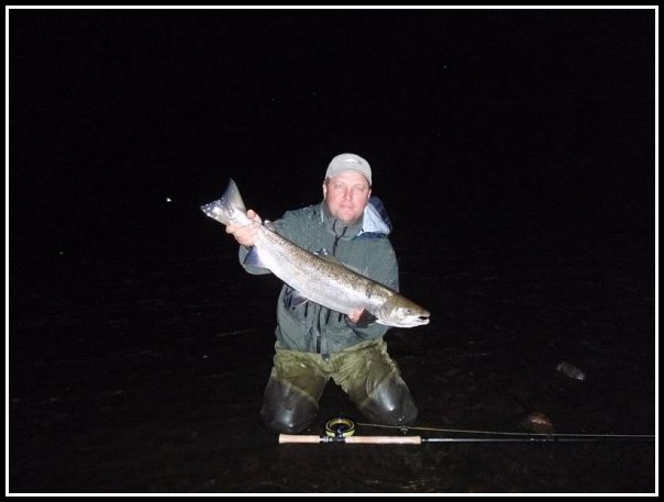 Phillipe Koehler with a night time capture